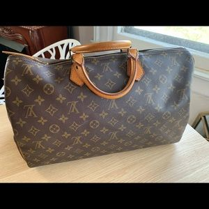 💯% Auth Louis Vuitton Speedy 40 Handbag